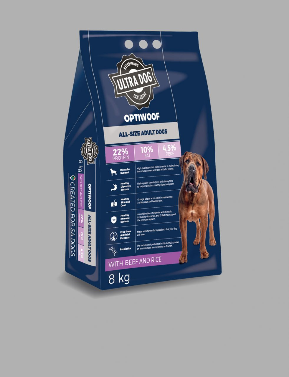 RCL - Ultra Pet | Optiwoof All Size Adult dogs