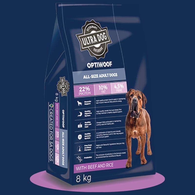Optiwoof dog food