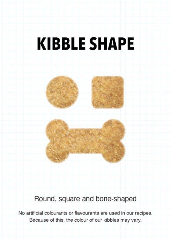RCL - Ultra Pet | Kibble Shape round square and bone-shaped