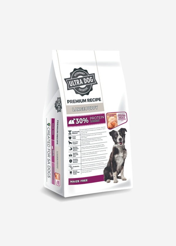 packshot Premium Recipe Large Puppy