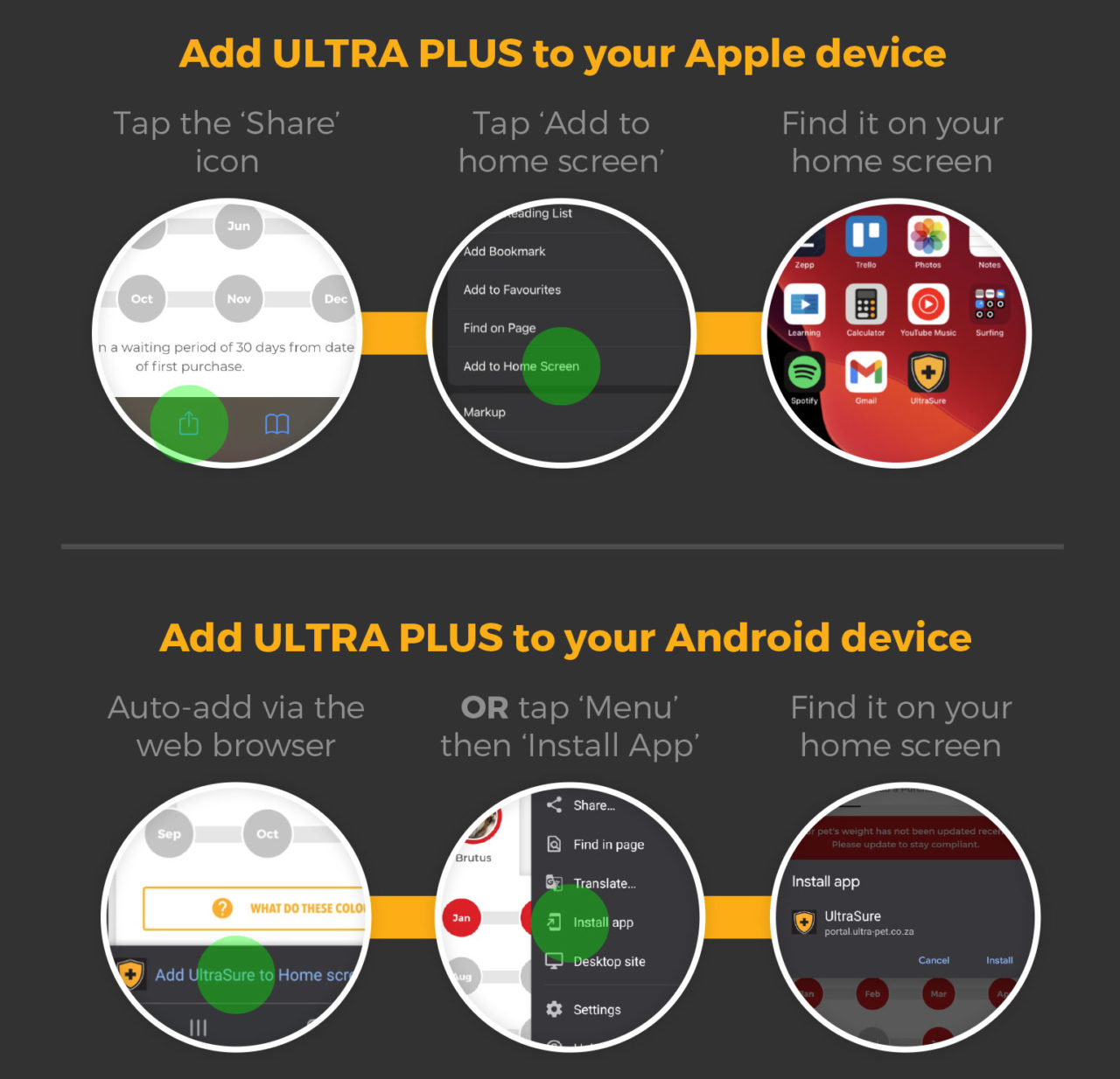 How to install Ultra Plus to your device